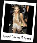Cheryl Cole in Alexander McQueen